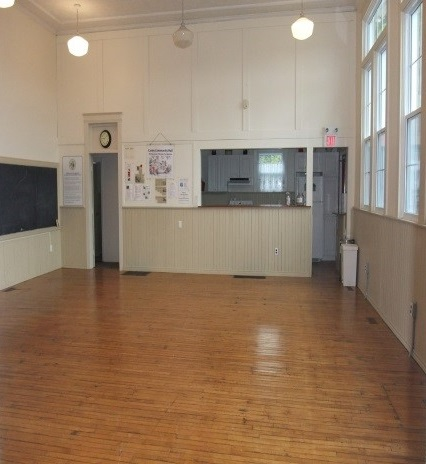 Carley Community Hall main floor