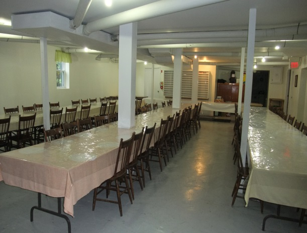 Eady Community Hall basement