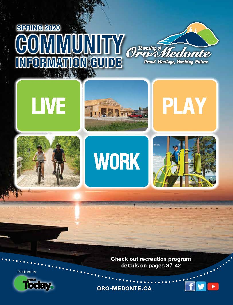 Community​ Information Guide Front Cover