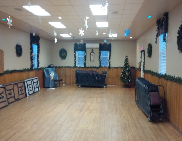 Hawkestone Community Hall​ main floor