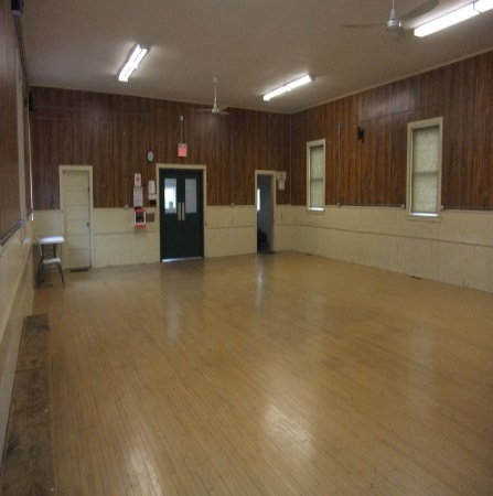 ​Jarratt Community Hall main floor