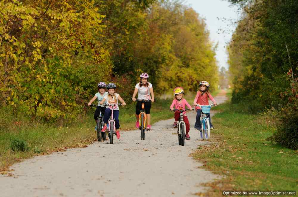 Rail Trail Cycling